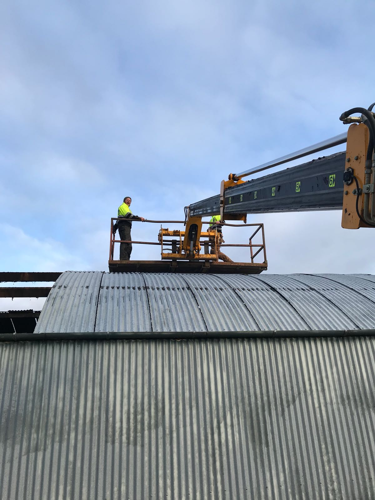 FJS Contracts Ltd: Shed building