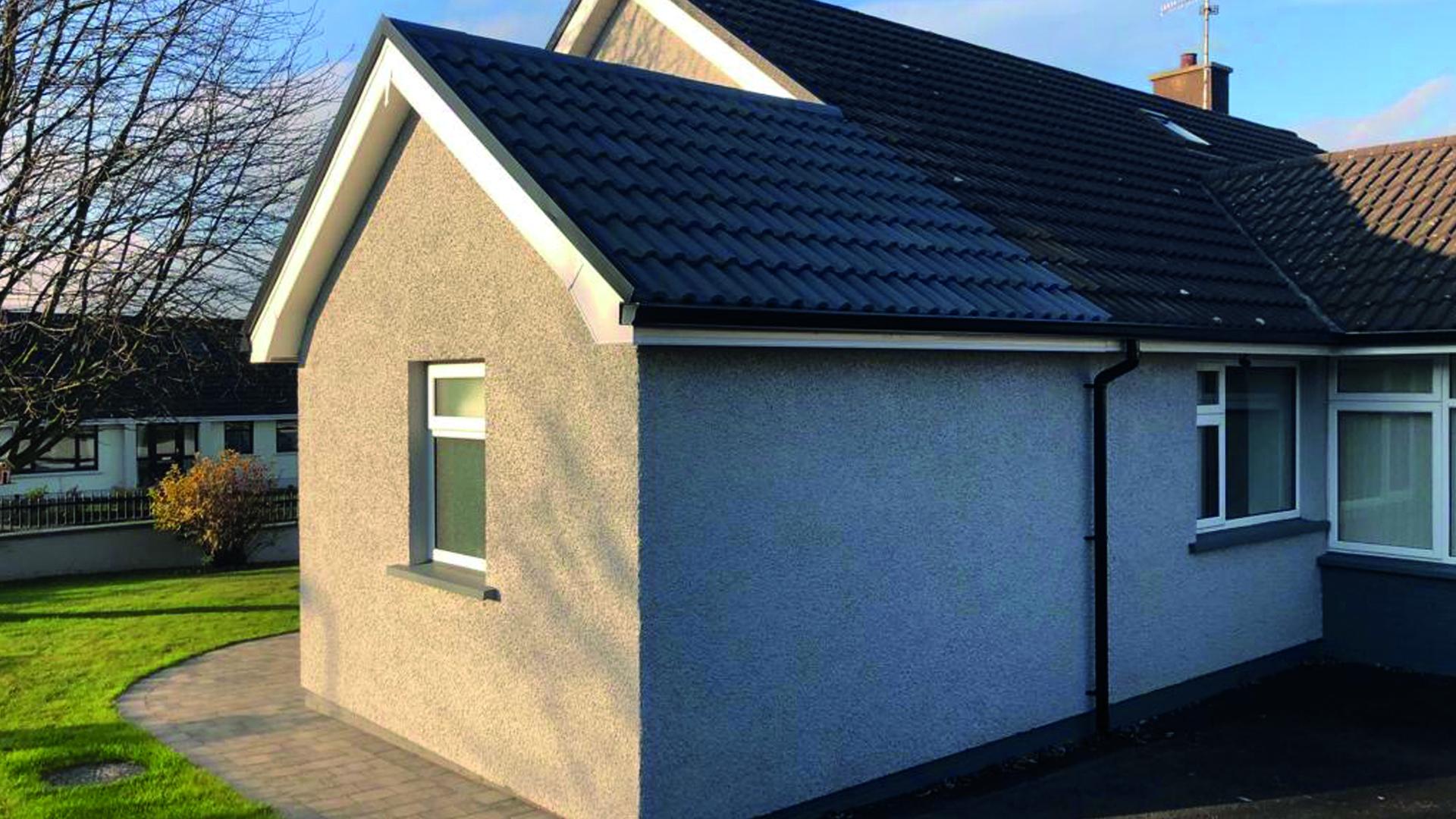 FJS Contracts Ltd: wet room extension